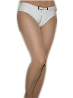 Wholesale hot club clothes online - Sexy PU Faux Leather Booty Shorts ways Zipper Crotch Club Party Hot Short Pants Women Outfit Clothing