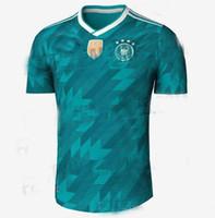 Wholesale L S Model - DRAXLER OZIL REUS GOTZE HOT SALE 2018 Germany Kroos World Cup 2019 Soccer jerseys 18 19 Germany Fans Model WERNER Football Shirts