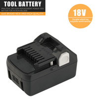 ersatz-batterien groihandel-Freeshipping spezielle echte wiederaufladbare Lithium-Batterie 18V 4.0ah praktische Ersatz-Elektrowerkzeug-Batterie für Hitachi BSL1830