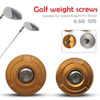 Wholesale cobra king - 6.5g 12g Golf Weight Screw for Cobra King F7 F7+ Driver Head Gravity (CG) Settings Club Accessories