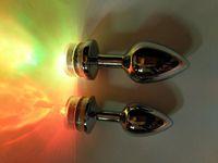 anal ball dildo großhandel-Butt Plugs Anal Sex Spielzeug Massage Plug Blume Metall Bdsm Dildo Sex Bälle erotische kleine Buttplug Spielzeug