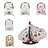 Wholesale baby stroller safety for sale - Baby Stroller Accessories Car Seat Cover Sunshiled Sunshade Safety Basket Cart Cradle Cap Visor Sun Canopy KKA5588