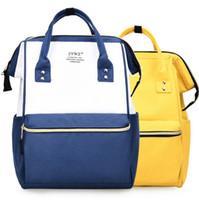 Wholesale rucksack outdoor laptop for sale - 8 Colors Fashion Girl Travel Satchel Rucksack Laptop Students Shoulder SchoolBag Handbag Mommy Backpacks Outdoor Bags DDA756