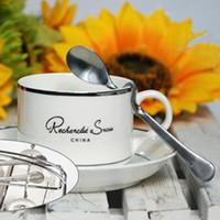 cuillère poignée incurvée achat en gros de-Accessoires de café créatif 200pcs / Lot en acier inoxydable torsadée poignée incurvée cuillère à café cuillères à miel outils de cuisine