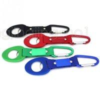Wholesale Belt Key Clips - Buckle Hook Water Bottle Holder Clip Climb Carabiner Belt Backpack Hanger Camp Key ring Multifunction Outdoor DDA566