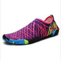hızlı kuruyan ayakkabılar toptan satış-Yeni Kamuflaj Yüzme Ayakkabı Unisex Yetişkin Anti Patinaj Su Sporları Dalış Çorap Plaj Çabuk Kuruyan Sıcak Satış 25ly Ww