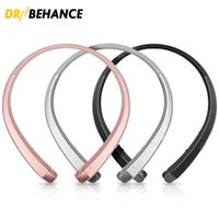 Wholesale Cheap Apple Headphones - New Cheap HBS910 Sports Headphones Bluetooth Stereo Wireless Earphones Neckband Headsets With Package  HBS800 HBS900 HBS 900 HBS-910