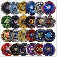 Wholesale beyblades spinning resale online - 24 Designs Clash Metal D Beyblades Beyblade Burst Spinning Tops Boys Kids Toys Beyblade Burst Party Favor CCA9918