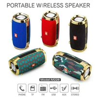 Wholesale plastic packaging straps - Bluetooth Speaker Outdoor Portable Subwoofer Wireless Stereo Speakers With Straps MP3 Susic Player Portable Speakers With Retail Package