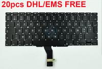 teclado a1465 venda por atacado-Novo Teclado AZERTY FR France para Macbook Air de 11 polegadas A1370 A1465 Teclado Francês 2011 2012 2013 2014 2015