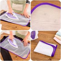 fabrik tuch direkt großhandel-Bügeln Tuch Wärmedämmung Haushalt Bügelbrett Pad Mesh Kleiderständer Hochtemperaturbeständigkeit Weiß Factory Direct 0 78zm V