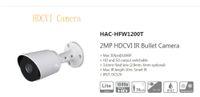 dahua hd bullet toptan satış-Ücretsiz Kargo DAHUA Güvenlik Kamera 2MP HDCVI IR Bullet Kamera Akıllı IR IP67 Logo Ile DH-HAC-HFW1200T