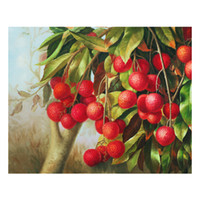 Wholesale oil paintings fruits for sale - Group buy Oil Painting Prints on Canvas Wall Art Picture for Living Room Home Decorations Unframed Hand painted oil painting wine fruit SHD4