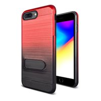 Wholesale pc cases for sale for sale – best Gradual change Kickstand Credit Card Slot phone Case For Samsung Galaxy J7 j3 TPU PC Hot sale back cover oppbag