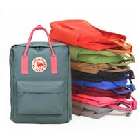 Wholesale waterproof canvas rucksack - kanken classic mini waterproof backpack rucksacks unisex canvas students shoulder Student bags handbags Schoolbag Girl boy
