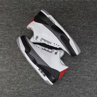 Wholesale Basketball Loop - New JTH NRG Free Throw Line Basketball Shoes Black Cement White Cement Sports Shoes trainer Men Sneaker Ship With Box
