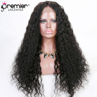 Wholesale new human hair wigs resale online - 8a Full Lace Human Hair Wigs Brazilian Virgin Human Hair Deep Body Wave New Design Wig Cap Density Affordable Wigs