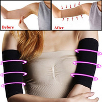 Wholesale Thin Arm Sleeves - 2018 New Arm Shaper Sleeves Beauty Women Shaper Weight Loss Thin Legs Thin Arm Calorie Off Fat Buster Slimmer Wrap Belt Women