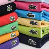 nouvelle arrivée polo achat en gros de-Mode pour hommes et Designer professionnel Summer Polo Shirt Broderie Polo T Chemises Tendance Shirt pour Homme Femmes High Street Top Tee Nouvelle Arrivée