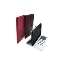 huawei mediapad ince durum toptan satış-Premium Ultra İnce PU Deri Standı Cüzdan Kapak Kılıf Kart Yuvaları Ile Huawei MediaPad M2 M3 Lite Gençlik Koruyucu Katlanabilir Tablet Çantası