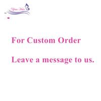 Wholesale Synthetic Remy - Customzied Order Link Human Virgin Remy Hair Bundles Deal Extensions Lace Closures Frontal 360 Lace Free Shipping