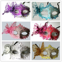 Wholesale butterfly costumes for women for sale - Group buy Halloween Butterfly Maks Masquerade Costume For Lady Women Three Dimensional Half Face Mask New Arrival gl BB