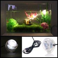 lâmpada do projector venda por atacado-Tanque de Peixes de aquário Submersível LEVOU Holofotes de Iluminação Subaquática Lâmpada UE Plug ou EUA Plug