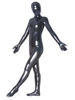 esaret erkek vücut toptan satış-Erkekler Eşcinseller Erotik Fetiş Esaret Siyah Catsuit Seksi Zentai Kostüm Seksi Elbiseler Tam Vücut Giysi Erkek Seks Giyim