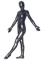 Wholesale bondage catsuit - Men Gays Erotic Fetish Bondage Black Catsuit Sexy Zentai Costume Sexiest Dresses Full Body Garment Male Sex Apparel