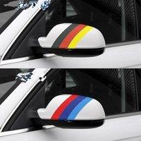 ingrosso adesivi nazionali di bandiera-1 M * 15 CM Fiore Tricolore Bandiera Nazionale Coloring Film Refit Un Motore Auto Copertura Auto Top Body Sticker 5 Pz / lotto