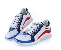Wholesale cheap mens casual shoes sale - New Discount Italy Brand Mens D2 Genuine Leather Shoes Cheap Sale High Quality Men's leather Casual shoes Size 39-45 Free Shipping