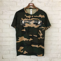 Wholesale camouflage shirt long sleeve - 2018 Summer Mastermind T-Shirt Skull Skeleton Camouflage MMJ Mastermind T shirts Japan Hiphop Camouflage Mastermind Top Tees