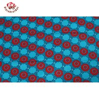 Wholesale Super Hollandais Wax Prints Fabric - 2018 Ankara 100% Polyester Wax Prints Fabric Super Hollandais Wax High Quality 6 yards African Fabric for Party Dress PL674