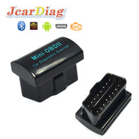 Wholesale Obd2 Elm327 Bluetooth Adapters - 2017 ELM 327 V2.1 BT adapter Works On Android Torque Elm327 Bluetooth OBD2   OBD II Auto Car Diagnostic-Scanner
