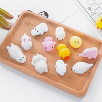 Wholesale Squishy Slow Rising Jumbo Toys mini Animals Cute Kawaii Squeeze Cartoon Toys Squishies Scented Squishiy Fashion Rare for kids Gifts STS211