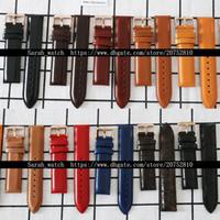 кожаный ремешок оптовых-20 мм натуральная кожа смотреть полосы ремень Ремень для 40 мм мужские часы
