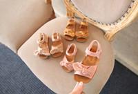 baby big bow schuhe groihandel-Babyschuhe Mädchen Prinzessin großen Bogen Kinder Sommer nette Anti-Rutsch-Schuhe Kinder Baby bowknot Mode Schuhe 3 Farben