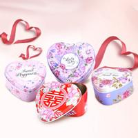 ingrosso scatola del cuore cinese-Scatole per bomboniere per bomboniere Scatole per bomboniere per bomboniere Scatole per bomboniere per bomboniere in metallo Scatole per bomboniere per bomboniere