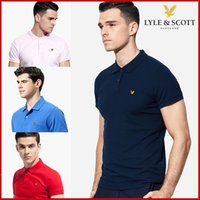 Wholesale canvas brand t shirts - NEW Yachting Lapel polo shirts 2018 Italian Brand MEN'S FASHION SUMMER short sleeve T-Shirt #P079 Italy tops business casual Tee