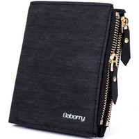 Wholesale photo blocks - New RFID Blocking Protection Anti-Theft Scan Men Biflod Short Wallet Zipper Coin Case Pouch Casual PU Leather Money Purse Hot 1PCS