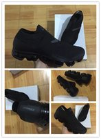 Wholesale yellow fabric belt - 2018 Fashion New Vapormax moc black belt Mens Running Shoes For Men Sneakers Women Athletic Sport ShoeWalking Outdoor Shoe