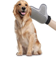 Wholesale Clean Comb - Pet Products Dog Shower Cleaning Brush Bath Massage for Dog Hair Clean Gloves Bath Supplies Pet Bath Comb KKA5007