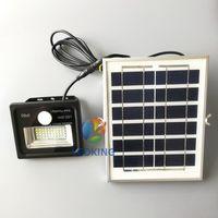 ingrosso proiettore del sensore di luce-LED Solar FloodLight con sensore di movimento PIR e filo lungo 10W 20W 30W 50W 100W Proiettori Da utilizzare per la luce del giardino di Street Park