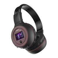 Wholesale new headphone radios for sale - Group buy 2018 New Zealot B570 Bluetooth earphone Wireless Stereo Headphone Stereo Handsfree Headband Earphone With Mic FM Radio TF Card