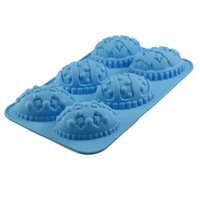 Wholesale eco friendly soap for sale - Group buy Easter Egg Shape Cake Molds Silicone Chocolate Mold DIY Heat Resisting Soap Baking Moulds Easy To Clean yy CB