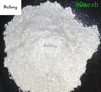 polnisches pulver großhandel-500g Nagel Glitter Weiß Kristall Perle Pulver Pigment für Lidschatten Nail art Lack Pigment Glimmer Pulver