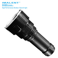 Wholesale search flashlight - IMALENT DX80 Newest 8 XHP70 Super LED Flashlight 32000 Lumens Built-in Most Powerful Searching Adventure LED Flash Light Torch