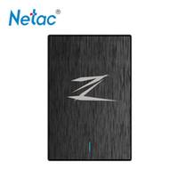 bilgisayarın sabit disk sürücüsü toptan satış-Netac Z1 128 GB SSD harici sabit disk Katı Hal Sürücü Sabit Disk taşınabilir HD disko duro externo USB 3.0 bilgisayar PC için