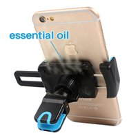 Wholesale Perfume Holder Wholesale - 2-in-1 Holder for Phone in Car Air Freshener Air Vent Mobile Support Car Phone Holder Perfumes Auto Flavoring Smell Accessories
