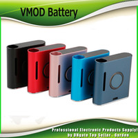 variable de la pluma del kit al por mayor-Original Vapmod VMOD Battery 900mah Precalentamiento VV Variable Voltage Vape Pen Box Mod Kit de Batería para 510 Cartuchos de Aceite Gruesos 100% Auténtico